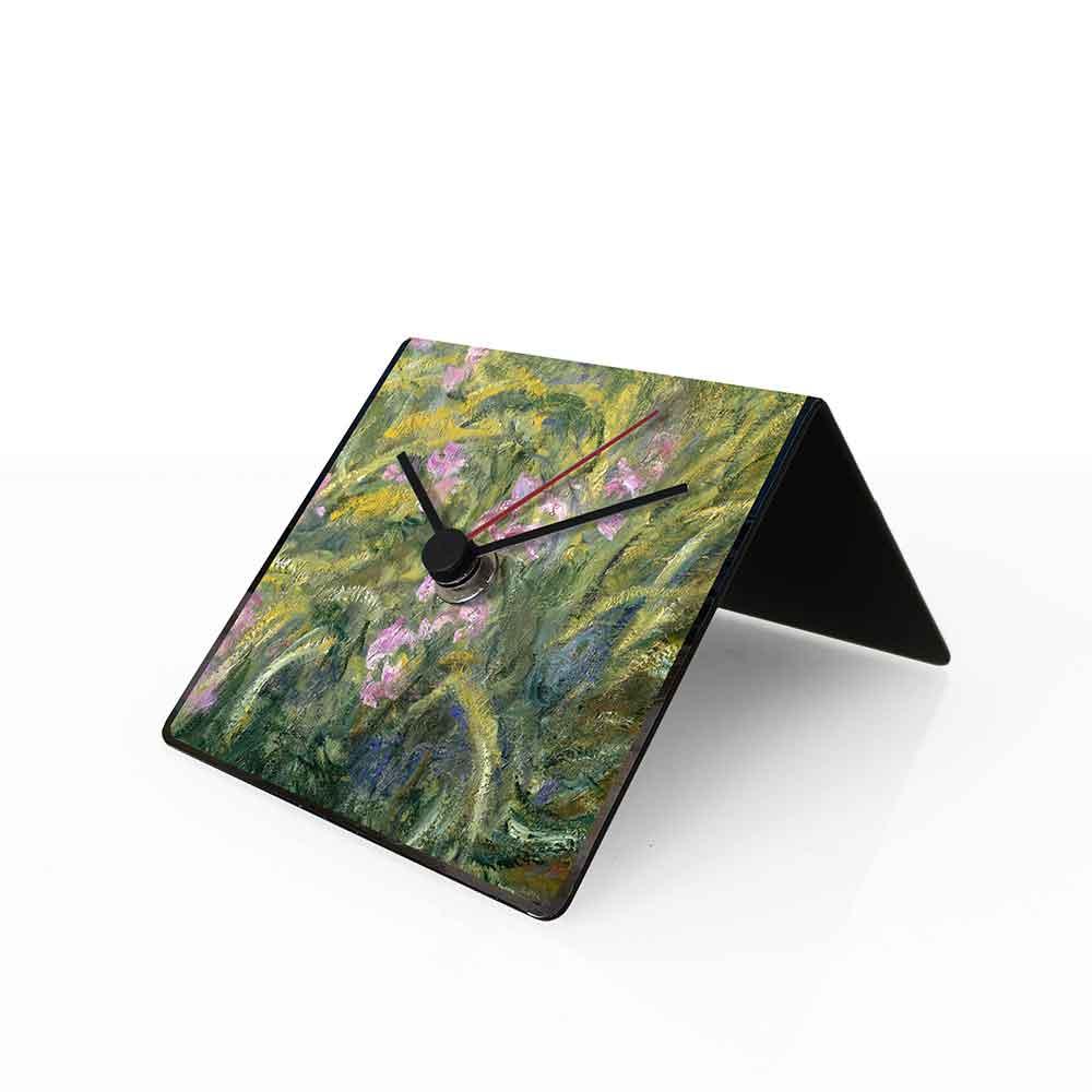 Orologio da tavolo con calendario perpetuo Arte Monet 10x10x10 cm
