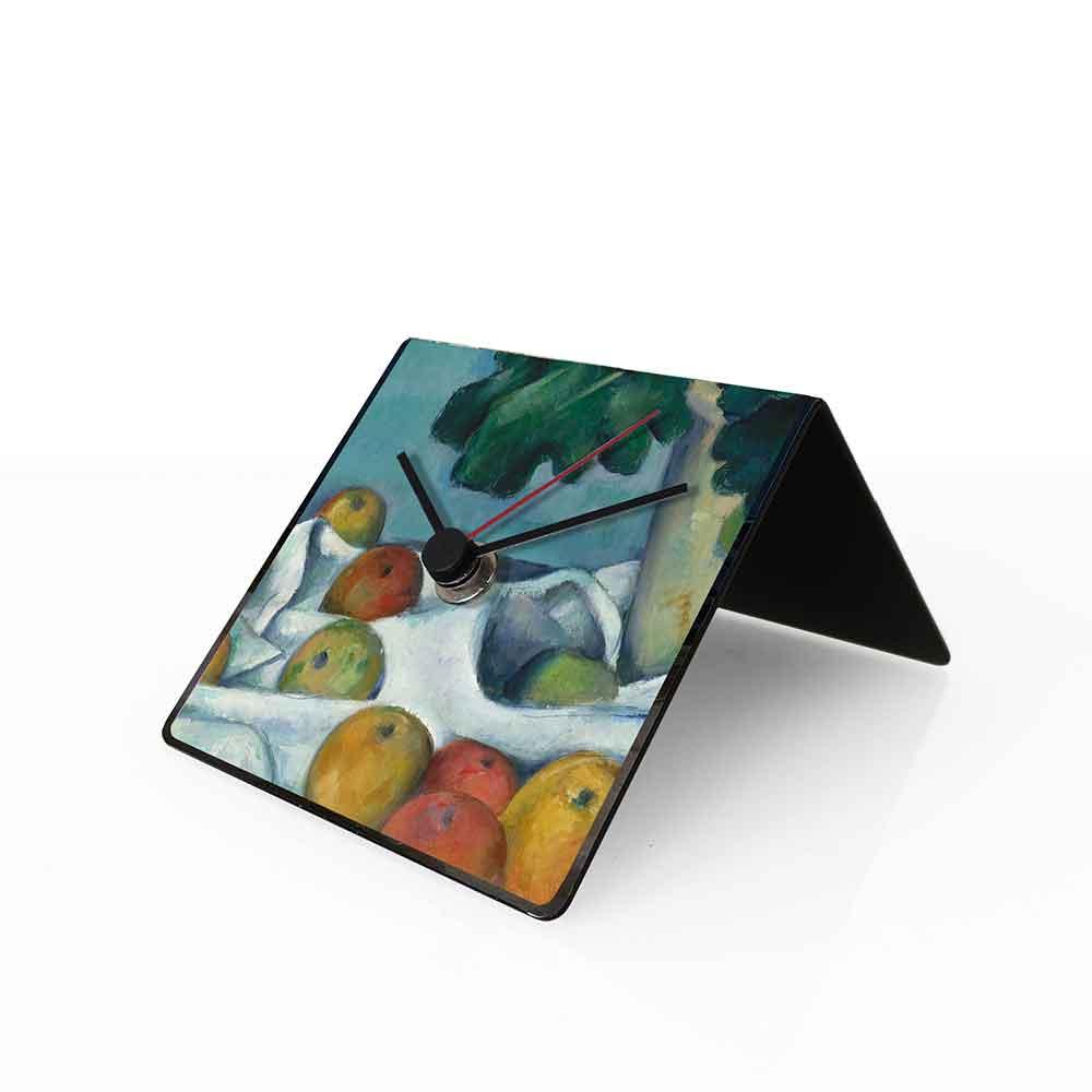 Orologio da tavolo con calendario perpetuo Arte Cezanne 10x10x10 cm