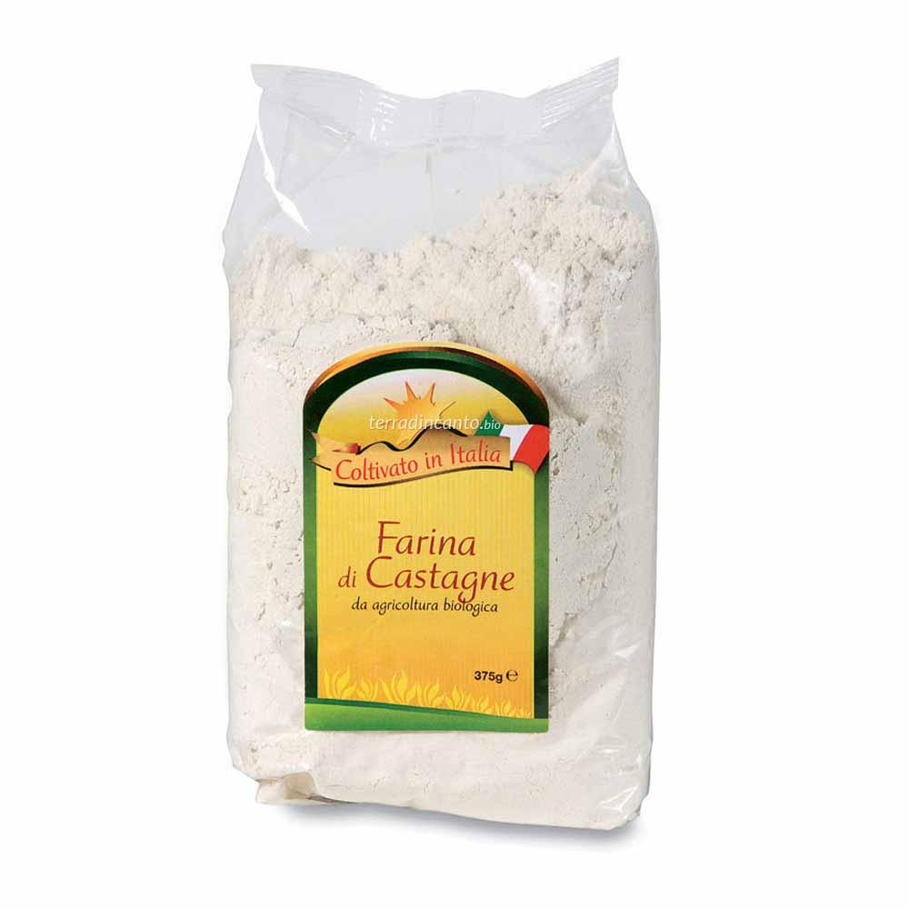 Farina di castagne Coltivato in italia