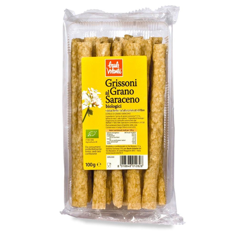 Grissoni di grano saraceno Baule volante