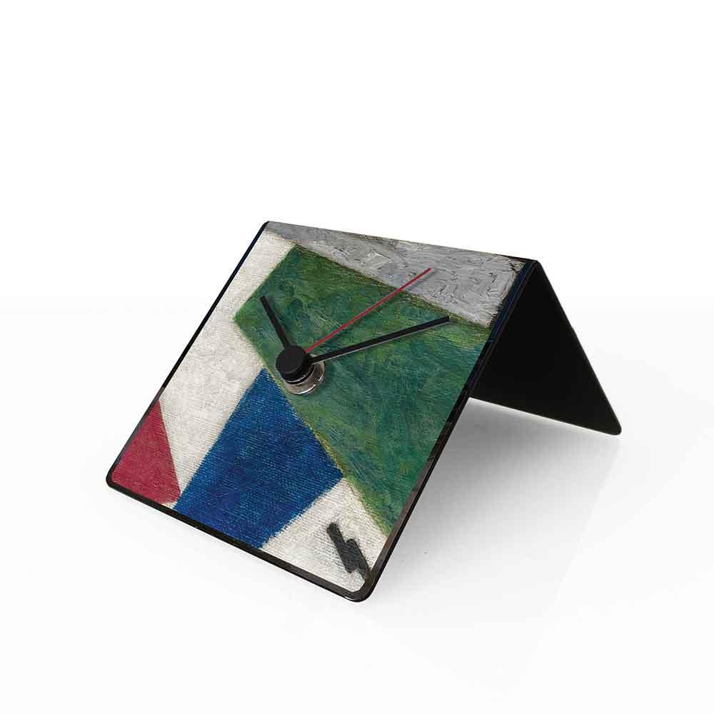 Orologio da tavolo con calendario perpetuo Malevich 10x10x10 cm