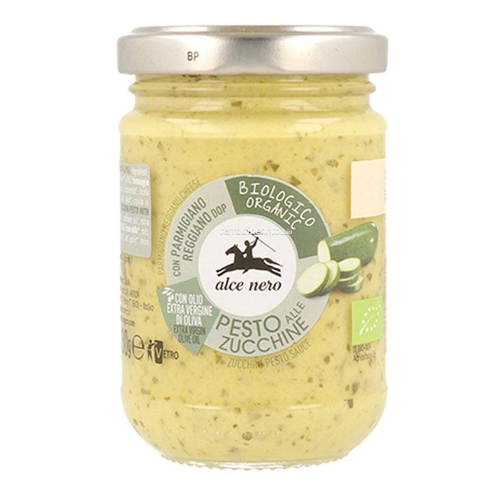 Pesto alle zucchine Alce nero