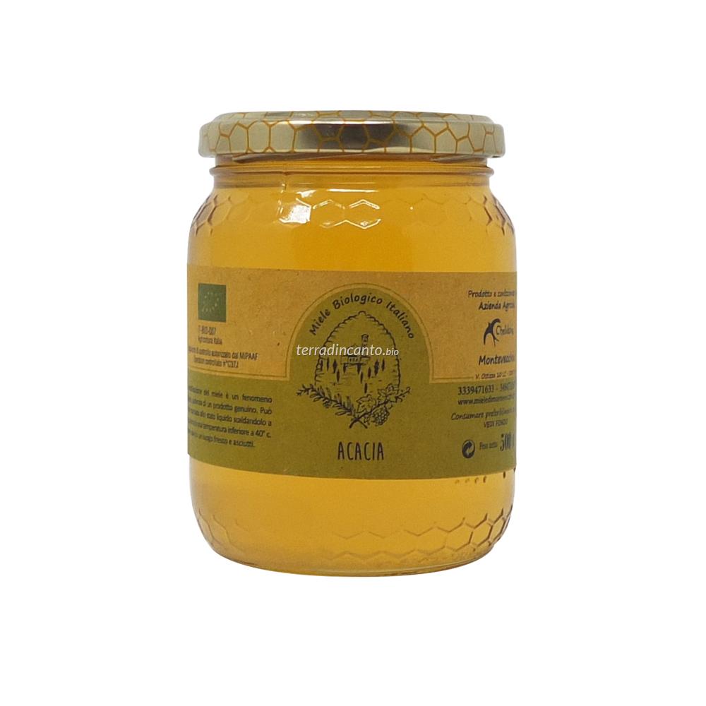 Miele di Acacia Bio 500 Gr Chelidonia Parco di Montevecchia