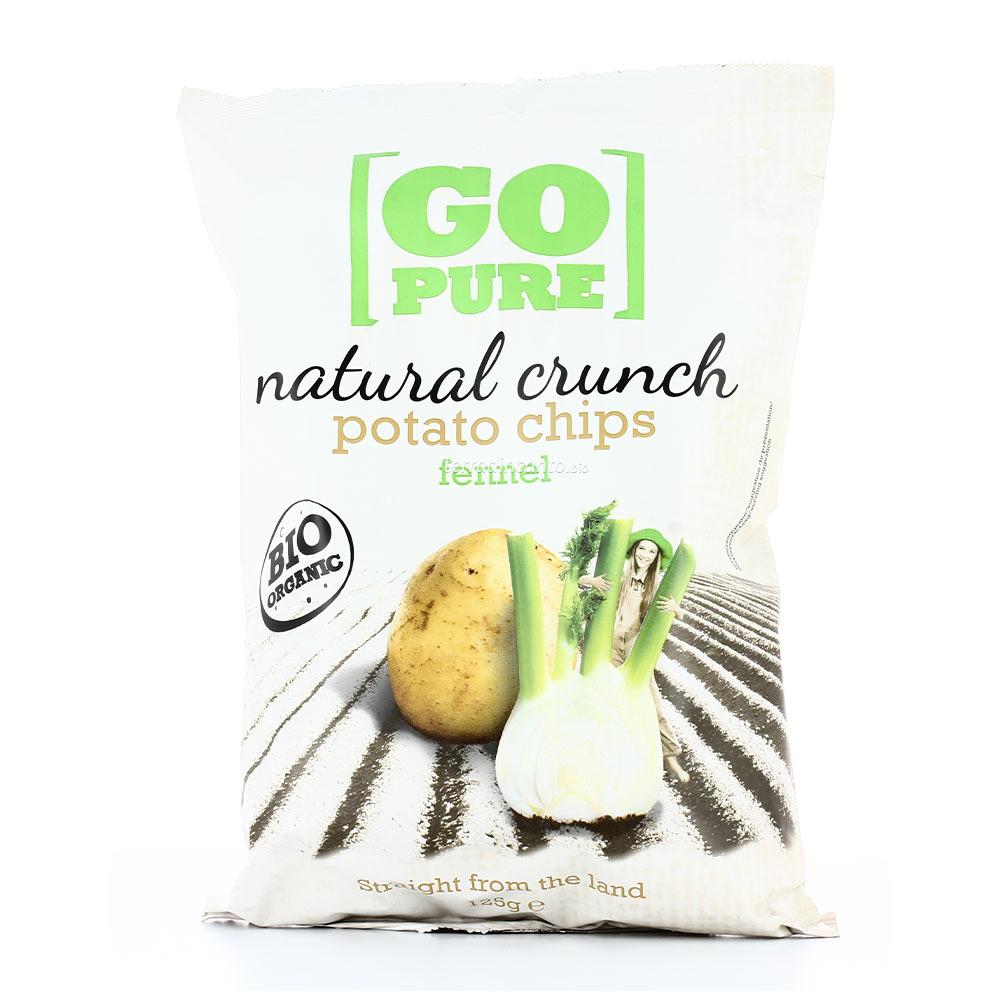Chips al finocchio GO PURE 40g