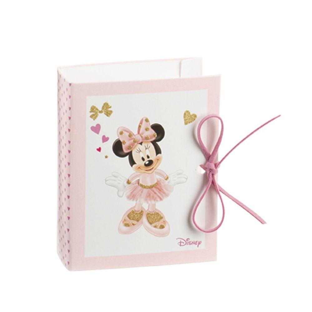 Libro porta confetti Minnie ballerina