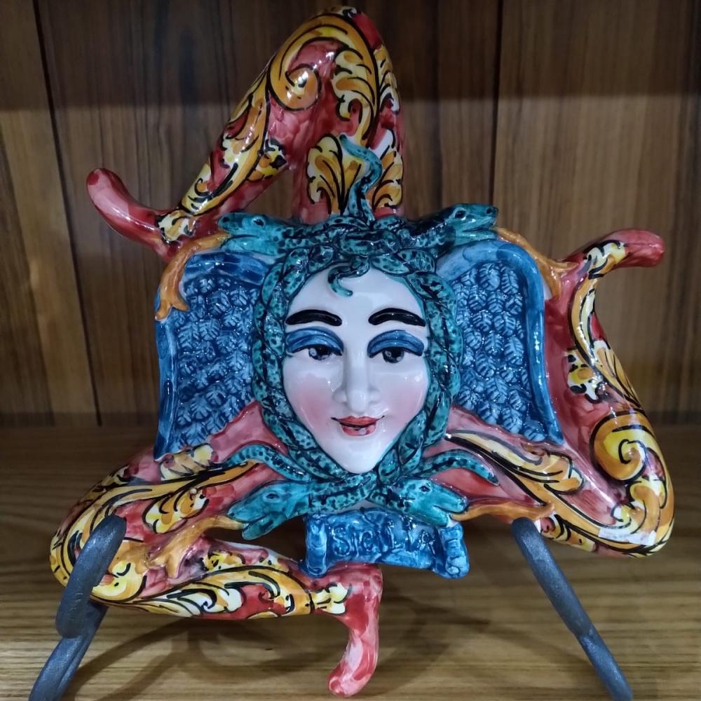 Trinacria in ceramica