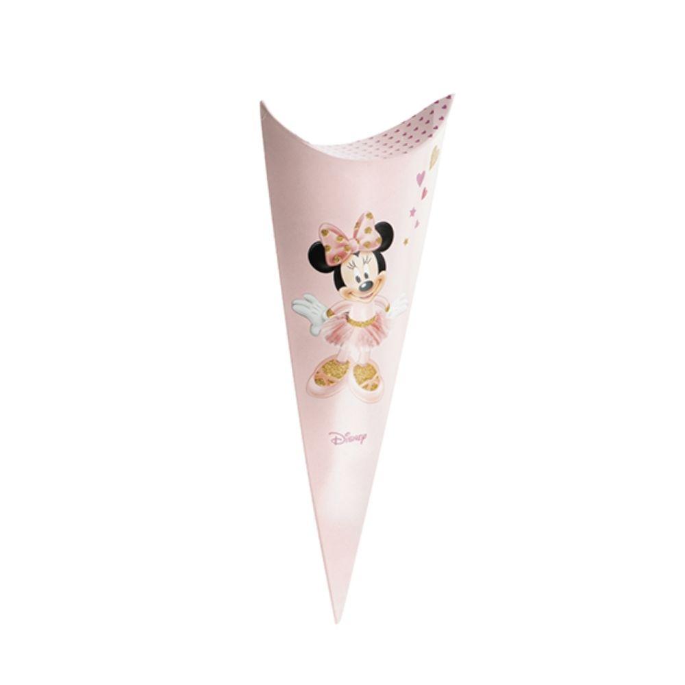 Cono busta porta confetti caramelle Minnie ballerina