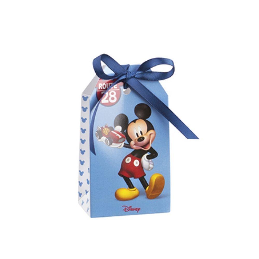 Shoppy con foro portaconfetti Michey Mouse go auto