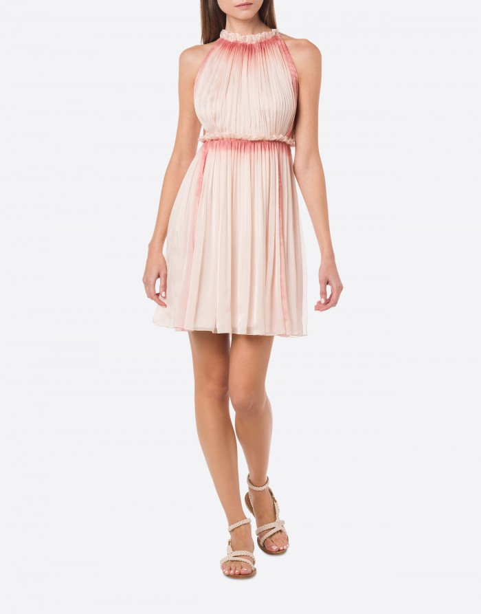 Minidress in chiffon alberta ferretti