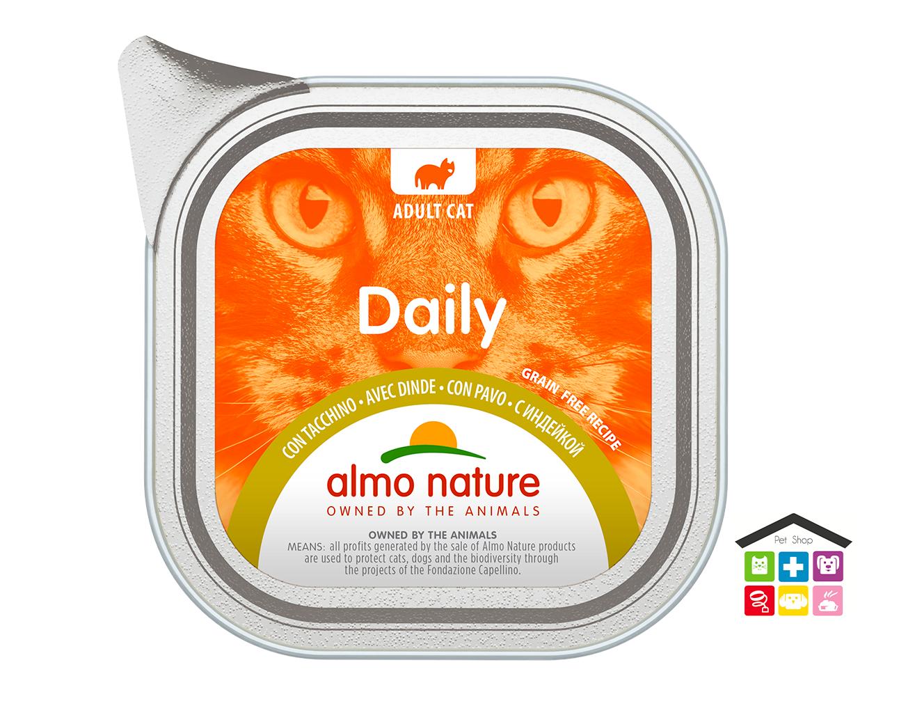 Almo Natura Daily Grain Free Recipe Con Tacchino 0,100g