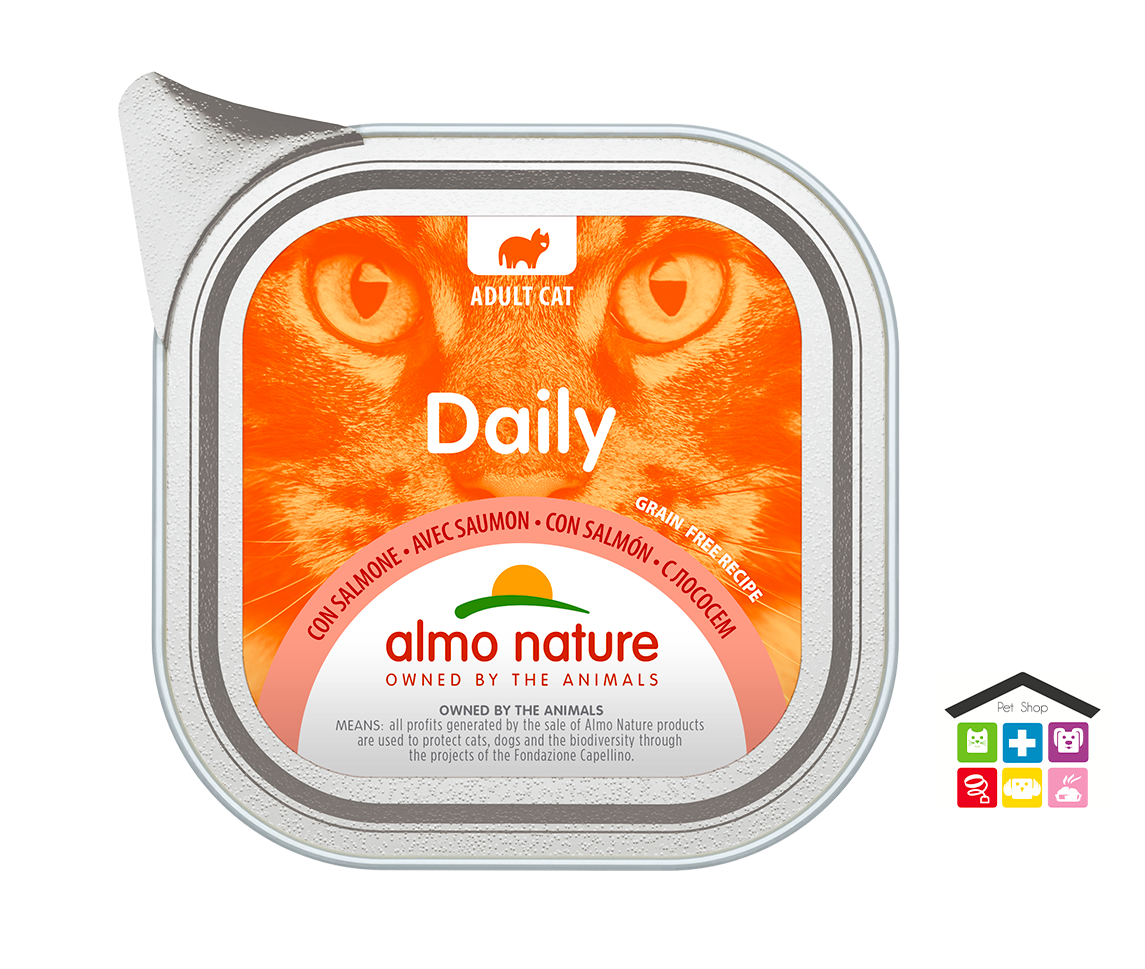 Almo Nature Daily Grain Free Recipe Con Salmone 0,100g