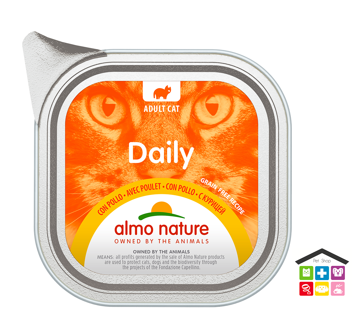Almo nature Daily Grain Free Recipe Con Pollo 0,100g