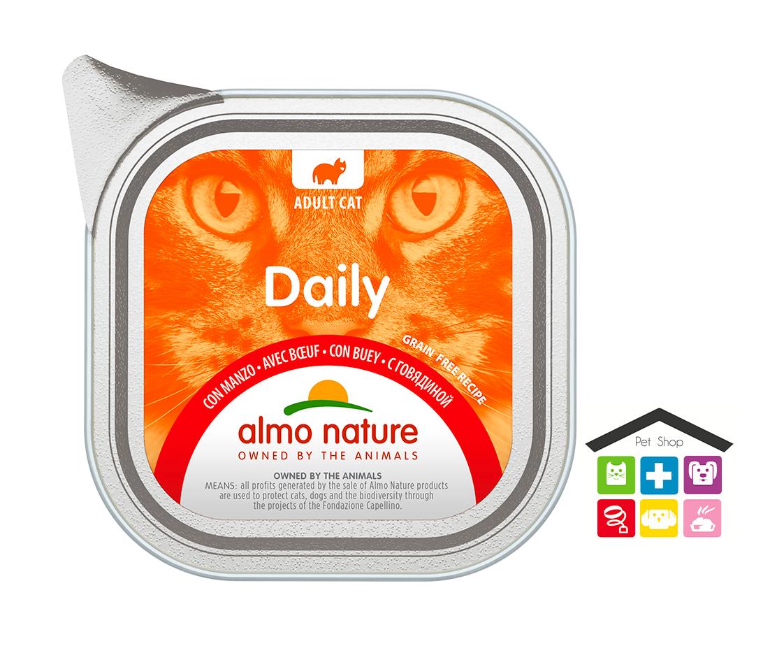 Almo Nature Daily Grain Free Recipe Con Manzo 0,100g