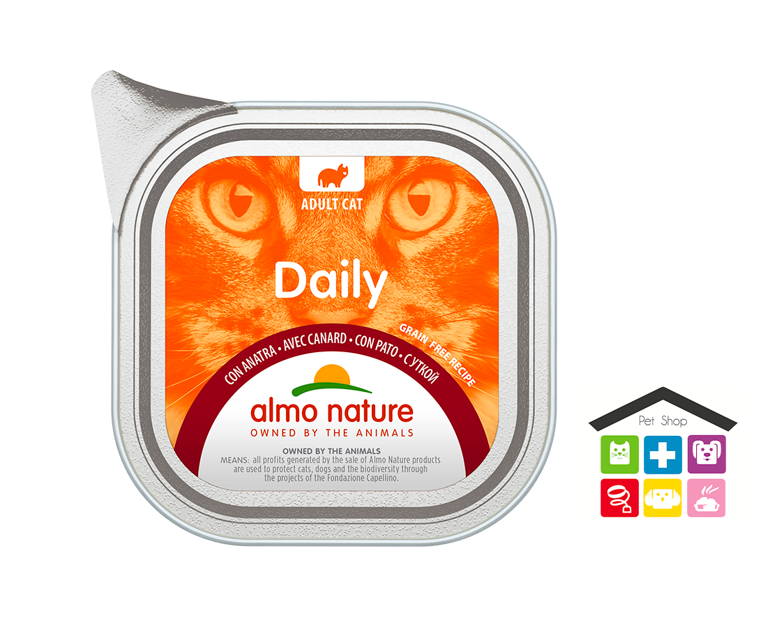 Almo Nature Daily Grain Free Recipe Con Anatra 0,100g