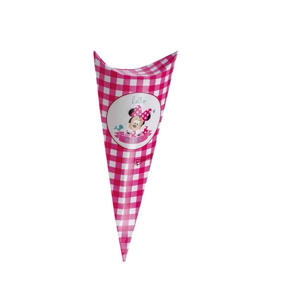 Cono busta porta confetti caramelle Minnie party