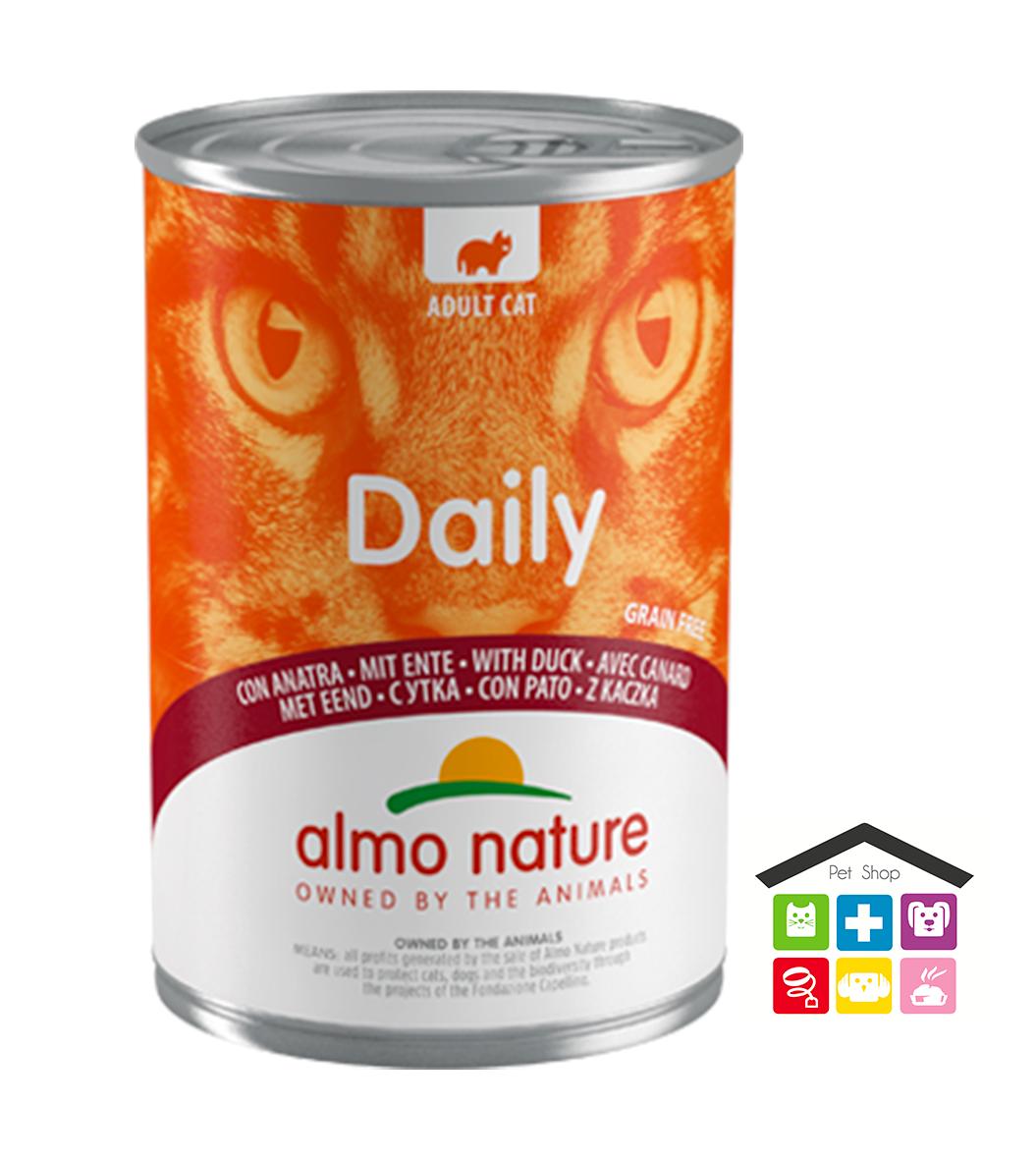 Almo Nature Daily Grain Free Recipe Con Anatra 0,400g