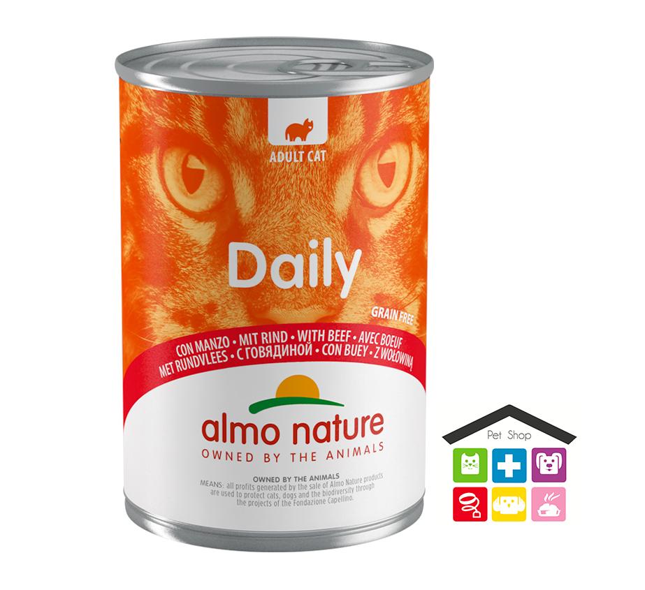 Almo nature Daily Grain Free Recipe Con Manzo 0,400g