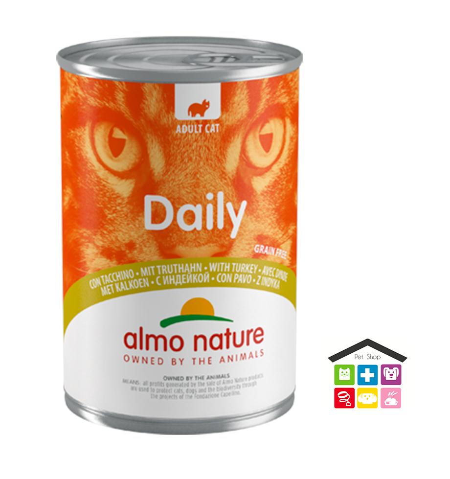 Almo Nature Daily Grain Free Recipe Con Tacchino 0,400g
