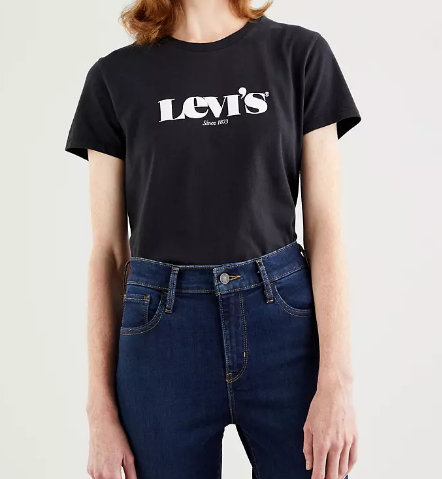 T-shirt donna LEVI'S con logo