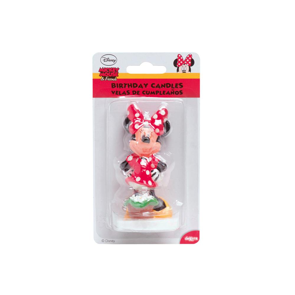 Candela in cera 3D personaggio Minnie