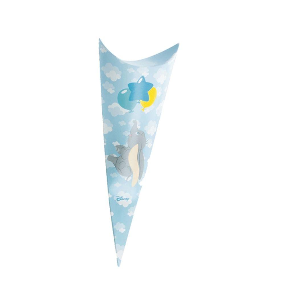 Porta confetti caramelle cono busta Dumbo cielo