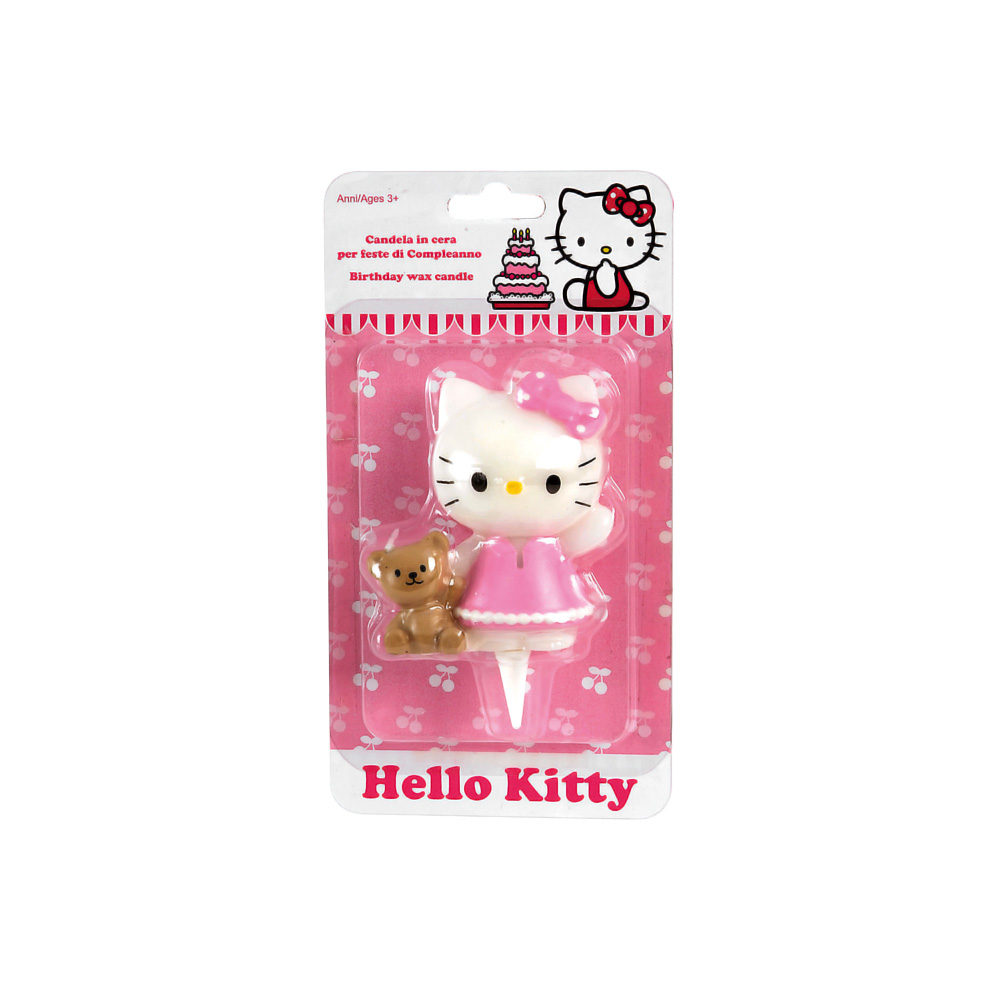 Candelina compleanno Hello Kitty