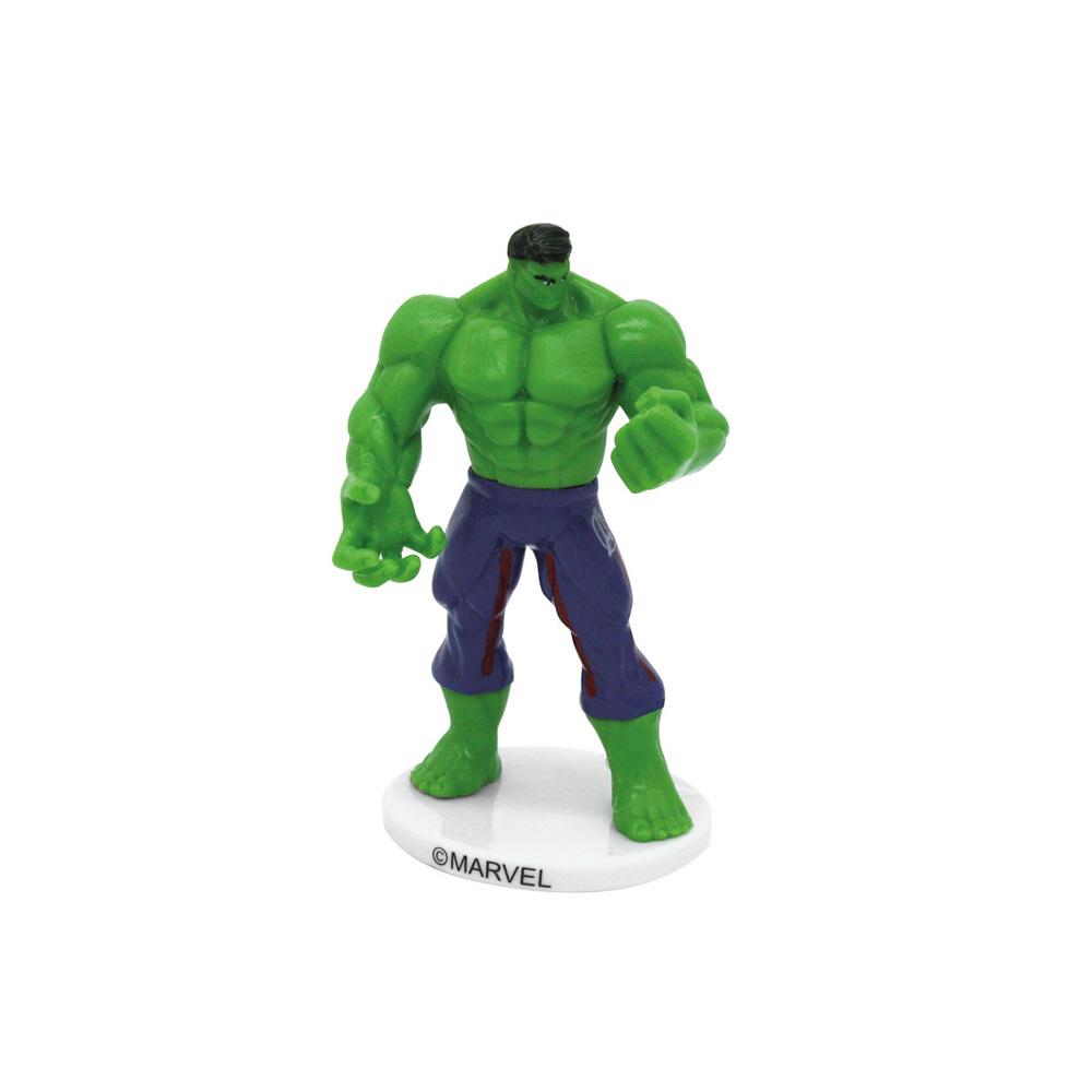 Statuina decorativa per torte in PVC - L'Incredibile Hulk