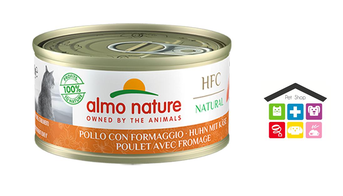 Almo Nature HFC Natural Pollo con Formaggio 0,70g