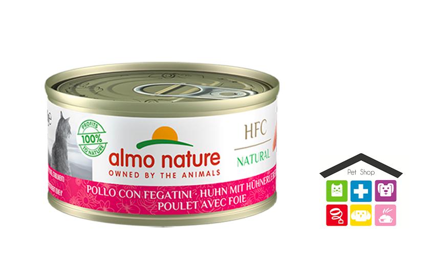 Almo Nature HFC Natural Pollo con Fegatini 0,70g