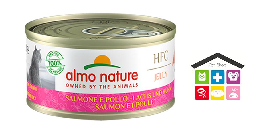 Almo Nature HFC Jelly Salmone e Pollo 0,70g