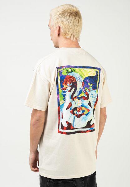 T-Shirt Obey Statue Icon Cream