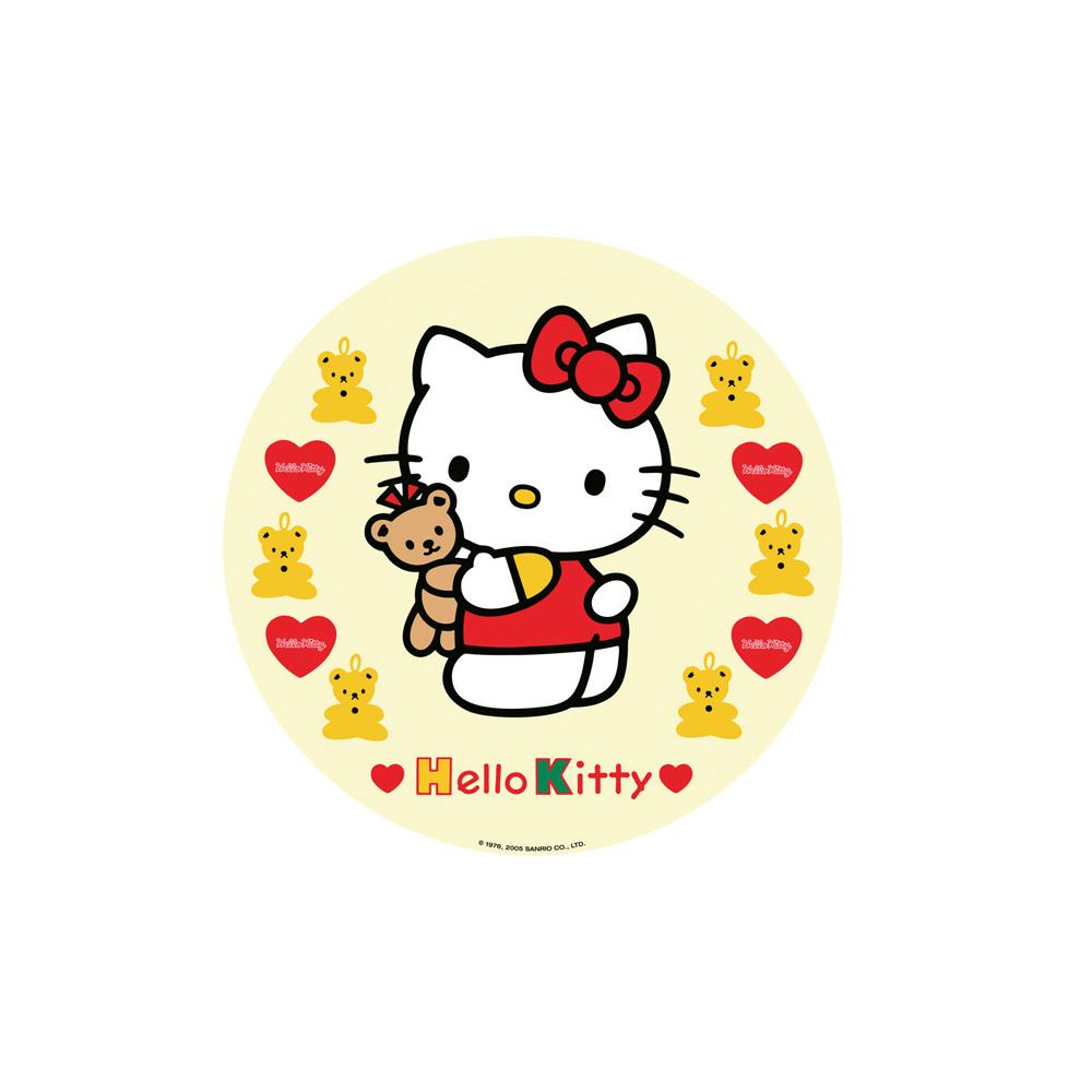 Cialda per torte personalizzata Hello Kitty