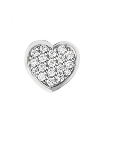 MARCELLO PANE, Elemento in Argento per gioielli componibili Cuore