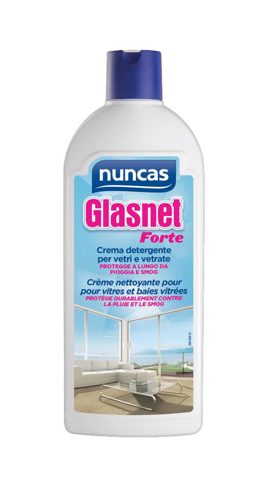 NUNCAS Glasnet forte crema detergente per vetri e vetrate 500ml