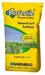 Concime BARENBRUG STARTER x nuove semine NPK 7-13-9 + Micorrize