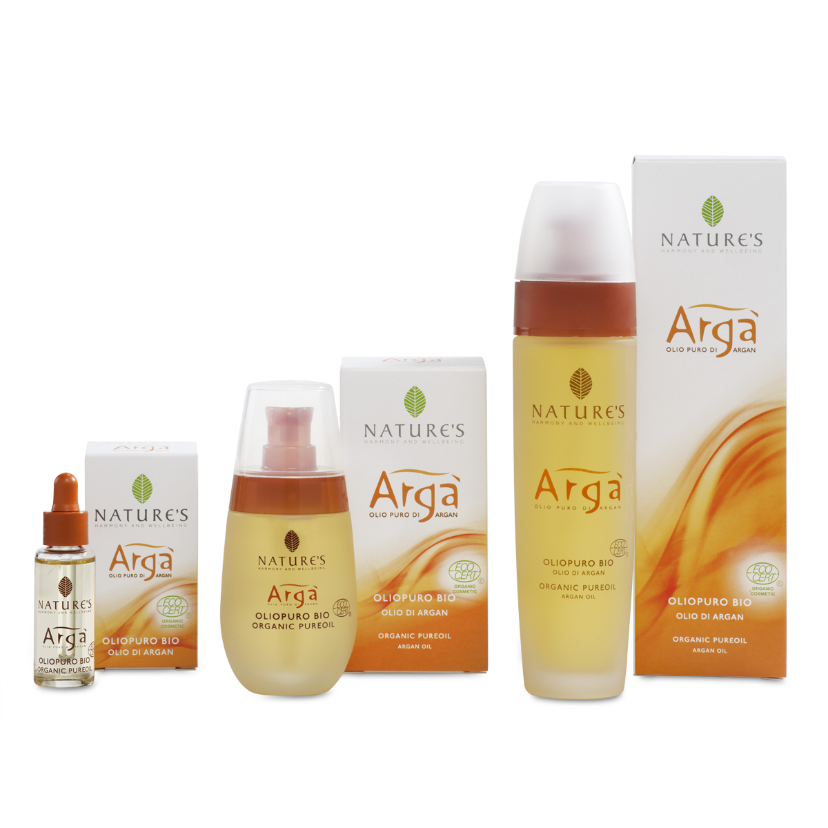 Olio Puro di Argan Bio certificato Ecocert GreenLife