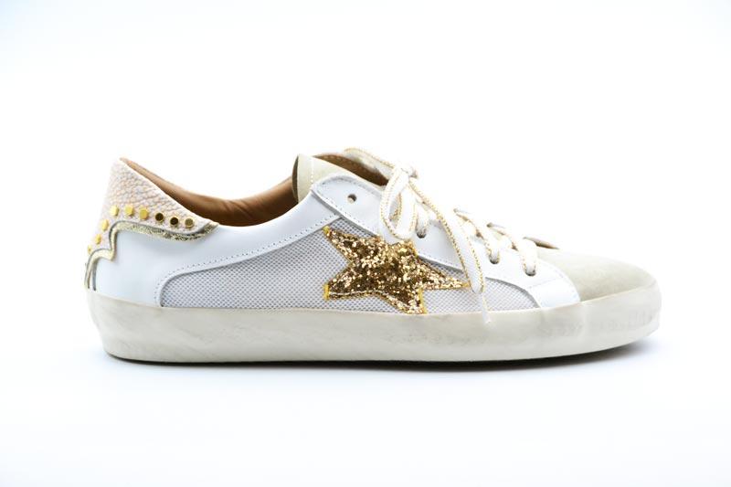 NOVITA' P/E 2021 Crown Calzatura Donna-Ilde Nowtop Piatto Wasabi Bianco 21
