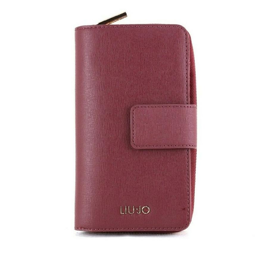 Portafoglio XL Zip Around dark red LIU JO