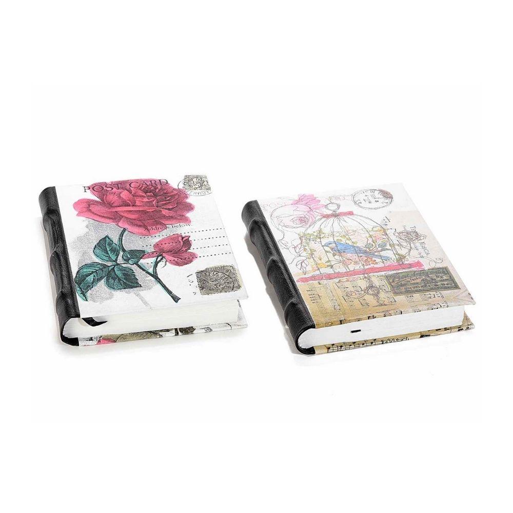 Quaderno in carta fatta a mano con rilegatura in pelle