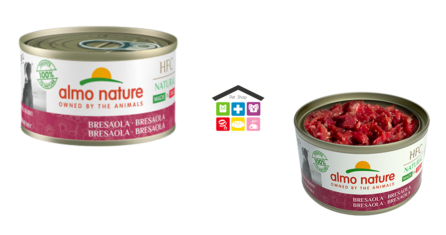 Almo nature dog HFC Natural Made in Italy Bresaola 0,95g