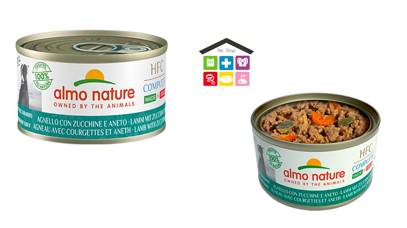 Almo nature dog HFC Complete Made in Italy Agnello con Zucchine e Aneto 0,95g