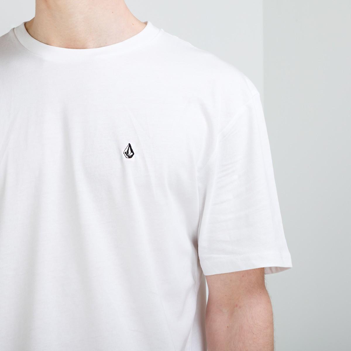 T-Shirt Volcom Stone Blanks White