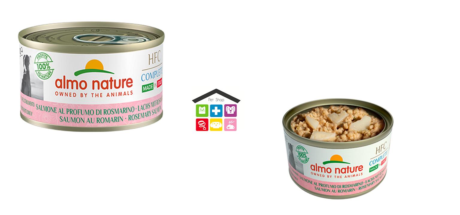 Almo nature dog HFC Complete Made in Italy Salmone al Profumo di Rosmarino 0,95g