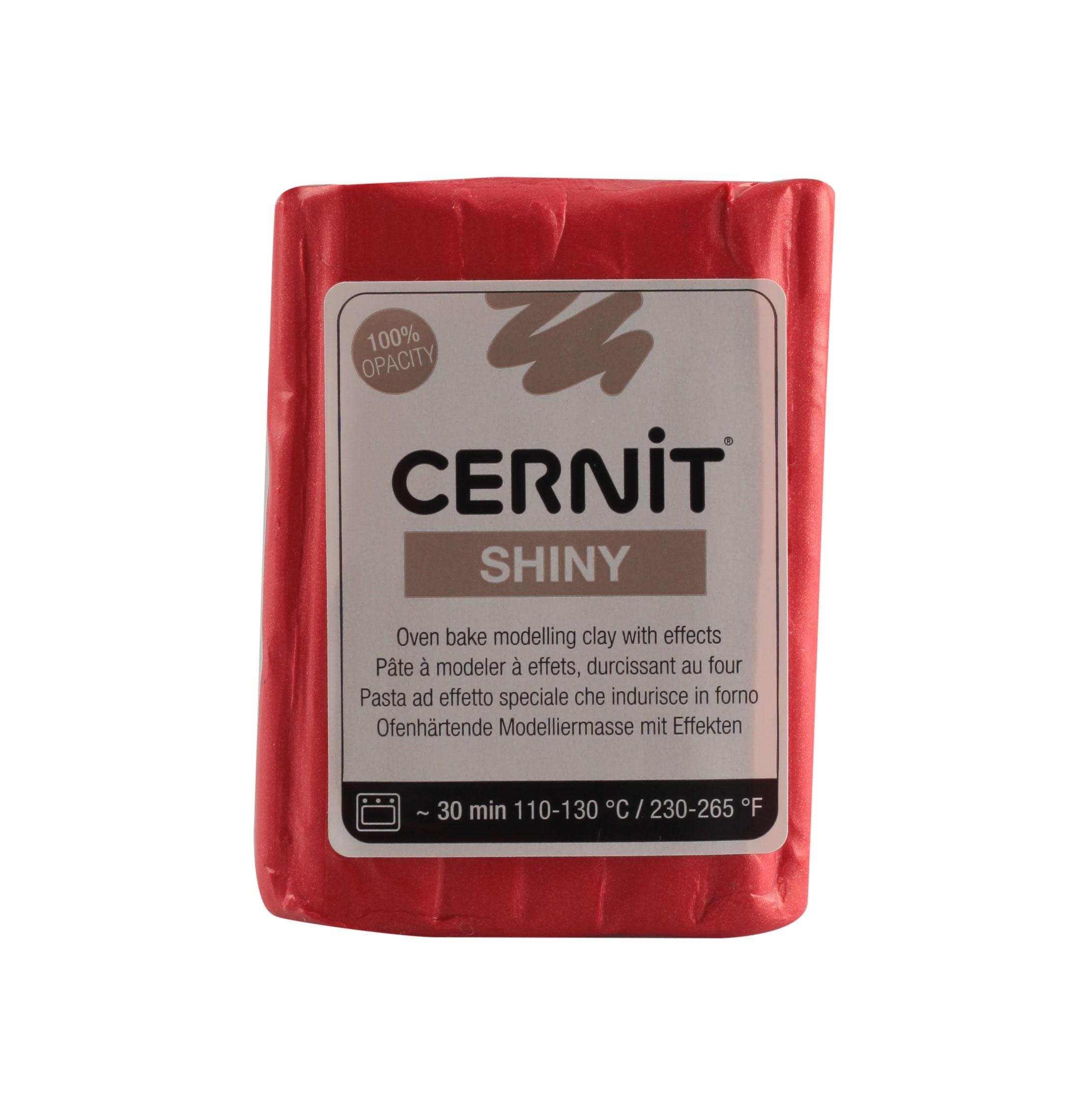CERNIT SHINY 56 gr ROUGE N.