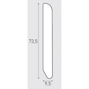 MM 75X10 ML 2.40 -  BATTISCOPA IMP. FAGGIO