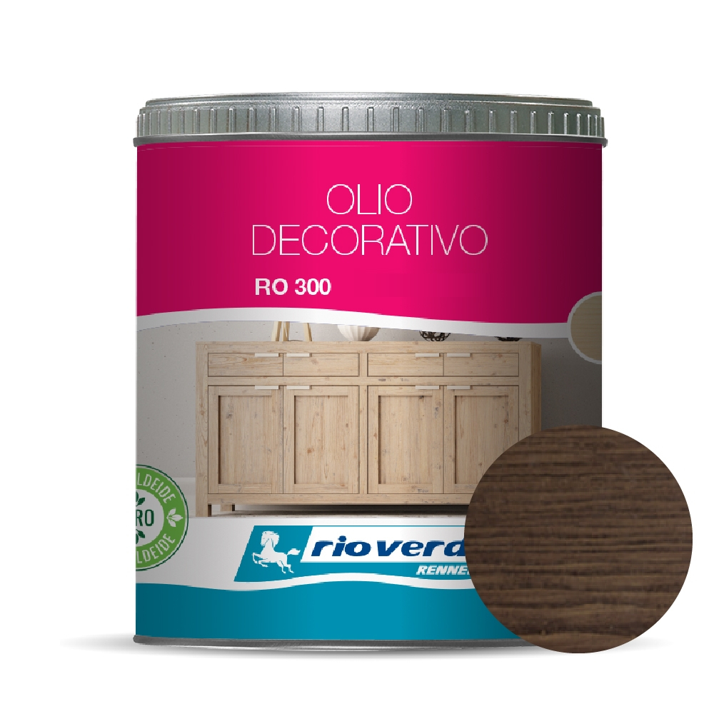 OLIO DECORATIVO ACQUA CIOCCOLATO LT. 0.5