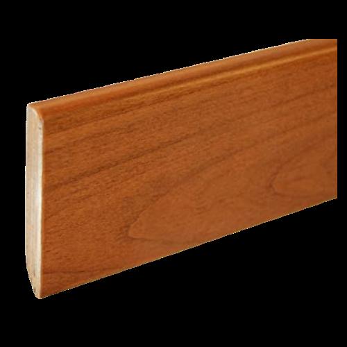 Battiscopa in Legno Ayous Liscio Ciliegio - DIMENSIONI: 8X1cm - Altezza: 2,40mt - Scegli tu le misure!