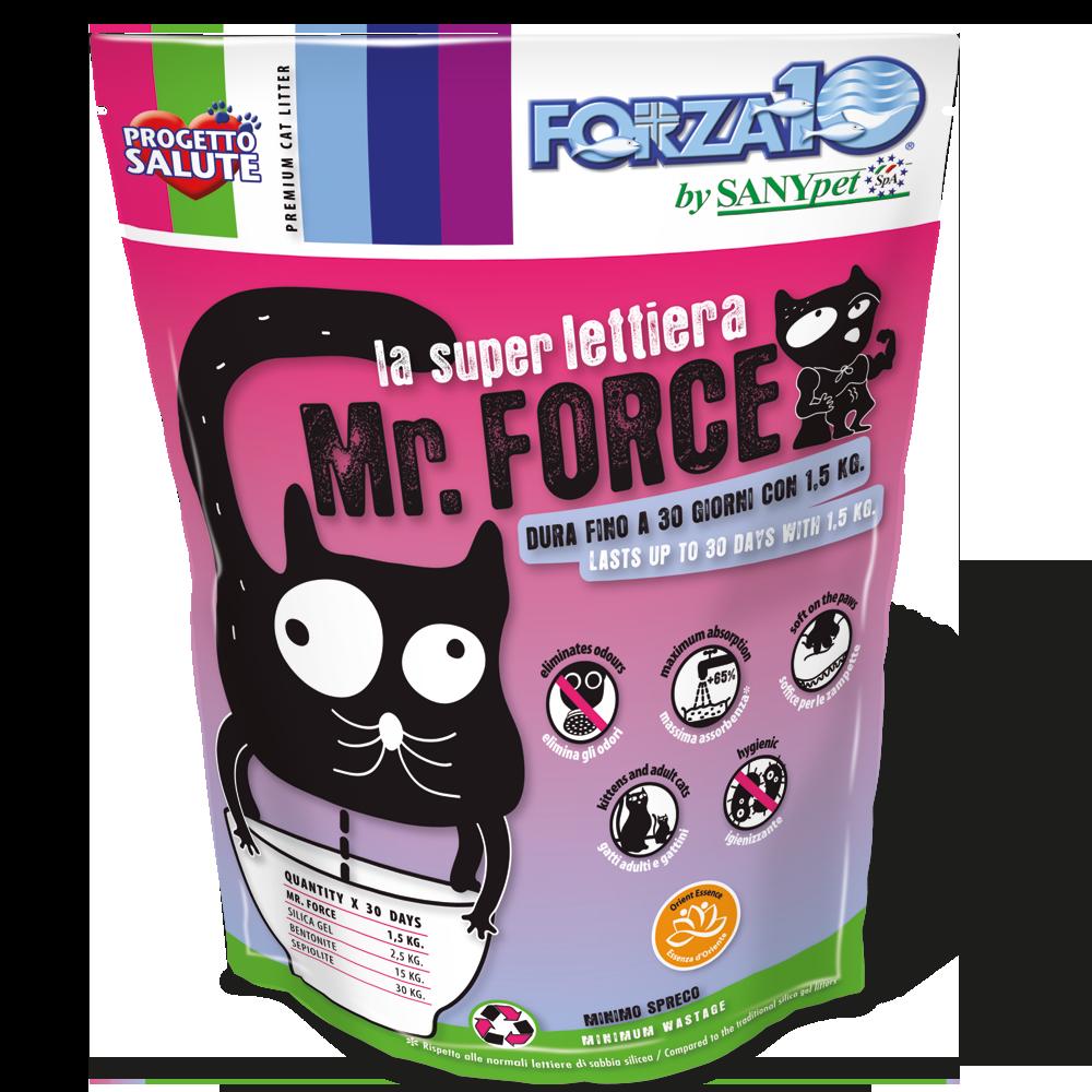 Super lettiera Mr. Force profumata