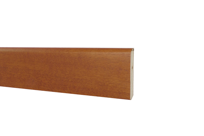 Battiscopa in Legno Ayous Liscio Noce Chiaro - DIMENSIONI: 10X1cm - Altezza: 2,40mt
