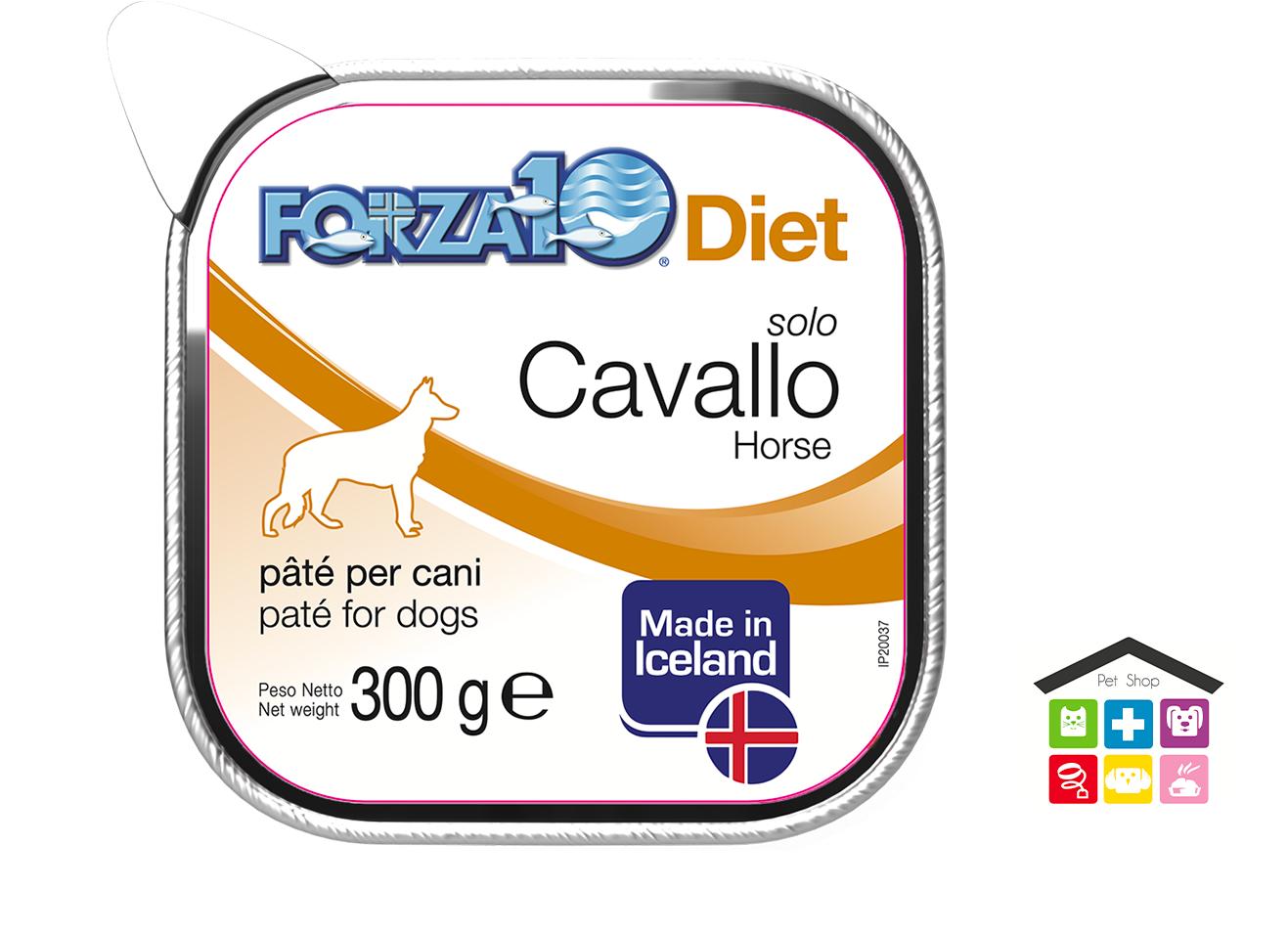 Forza 10 Diet Cane Umido  Solo Diet Cavallo 0,300g